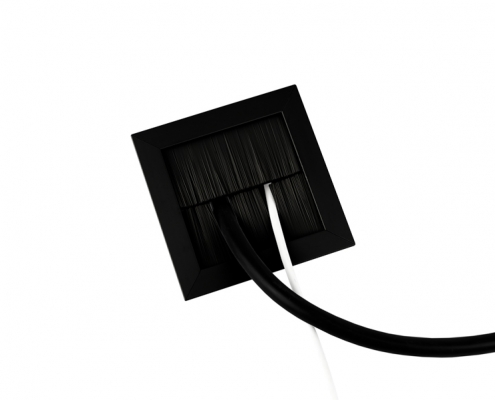 TecLines TKB001 desk cable outlet splitted brush sealing