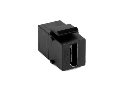 TecLines TKM004B keystone custom module HDMI 2.0 4K, socket / socket