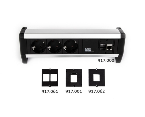 TecLines TKM004B keystone custom module HDMI 2.0 4K, can be combined with Bachmann installation frame / socket strip