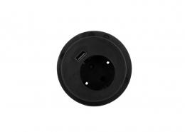 TecLines TMS001 multifunctional socket, 1x safety socket, 1x USB