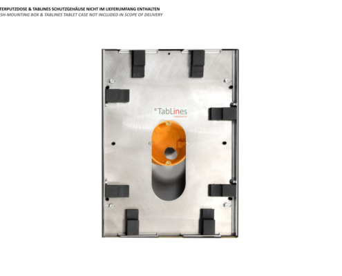 TecLines TNT001 flush-mounted USB Power Supply Unit for Tablines Tablet Wall Mount